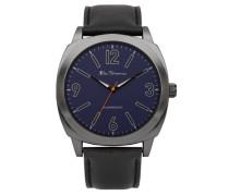 Armbanduhr GENTS WATCH Analog Kunststoff Schwarz BS044
