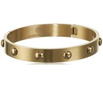 Armreif 15/02 Dott I Shiny Gold teilvergoldet - 337761