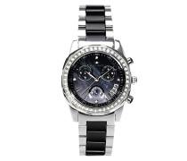 Armbanduhr Analog Quarz Premium Keramik Diamanten - STM15L2