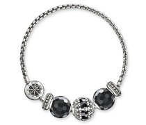 Armband Karma Beads mit Bead 925 Sterling Silber Länge 19 cm SET0359-494-11-L19