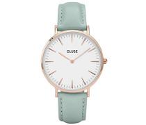Damen-Armbanduhr Analog Quarz Leder CL18021