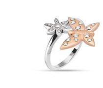 Ringe Versilbert mit '- Ringgröße 54 (17.2) SAHL06014