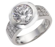 Celesta - Damenring aus 925er Sterling Silber und 25 weißen Zirkonia Ringgröße: 58 368270002L-058