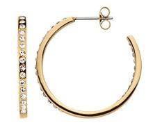Creolen Icons Quinnie Sg Edelstahl teilvergoldet Kristall transparent Prinzess - 334724