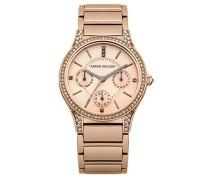 Damen-Armbanduhr Analog Quarz KM107RGM