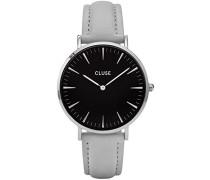 Damen Armbanduhr Analog Quarz Leder CL18218