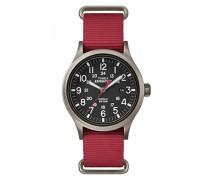 Herren Armbanduhr Analog Quarz Nylon TW4B04500