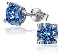 Ohrringe silber/blau Schmuck
