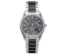 Armbanduhr Analog Quarz Premium Keramik Diamanten - STM15M2