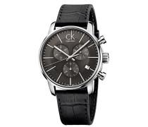 Armbanduhr Chronograph Quarz Leder K2G271C3