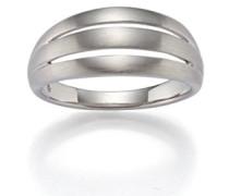 Damen-Ring 925 Silber rhodiniert mattiert