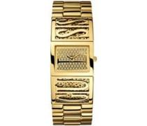 Damen-Armbanduhr Analog Quarz Edelstahl W13559L1