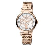 Damen-Armbanduhr Lignum Analog Quarz Edelstahl