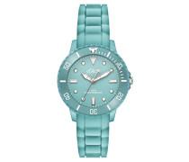 Time Quarz Uhr mit Silikon Armband