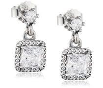Ohrhänger Zeitlose Eleganz 925 Silber Zirkonia weiß - 290593CZ