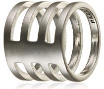 Damen-Ring Winter Versilbert 1.9 cm - 271546044