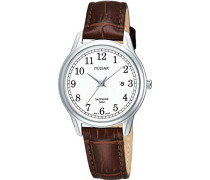 Uhren Armbanduhr XS Klassik Analog Quarz Leder PH7187X1