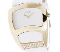 Armbanduhr XS Analog Quarz Leder JP100572F05U