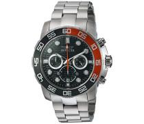22230 Pro Diver - Scuba Uhr Edelstahl Quarz grauen Zifferblat