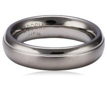 Damen-Ring teilpoliert Titan GR.59 0129-0159