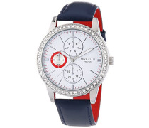 Damen-Armbanduhr Analog Quarz Leder SL4-60227A