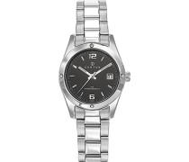 Analog Quarz Uhr mit Edelstahl Armband 641328
