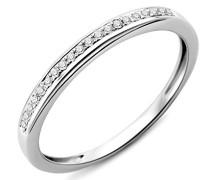 Ring 9 Karat (375) Weißgold Diamant 56 (17.8) SA953RO