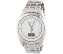 Armbanduhr XL Analog - Digital Quarz Edelstahl 11030085
