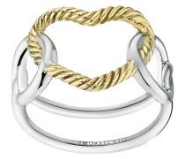 Damen-Ring Essenza Versilbert SAGX16014