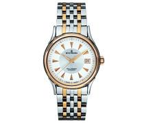 Armbanduhr WALLSTREET Analog Automatik Edelstahl beschichtet 20002.2158