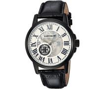Erwachsene Skeleton Automatik Smart Watch Armbanduhr mit Leder Armband ES-0028-03
