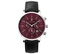 Herren Analog Quarz Uhr mit Leder Armband 206G153