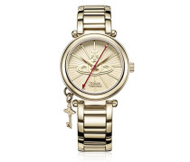 Armbanduhr Kensington II Analog Quarz Edelstahl VV006KGD