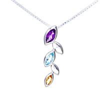 Damen-Halskette Anhänger Silber PP03360 SIL