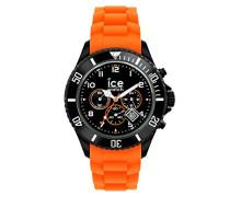 ICE Chrono Black Orange - Orange Herrenuhr mit Silikonarmband - 013705 (Large)