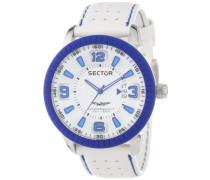 Herren-Armbanduhr XL 400 Analog Leder R3251119002