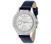 Damen-Armbanduhr Scilla Analog Quarz Leder