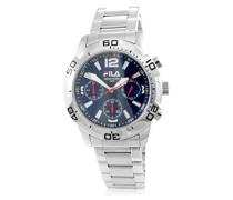 Herren-Armbanduhr Analog Quarz Edelstahl 211815