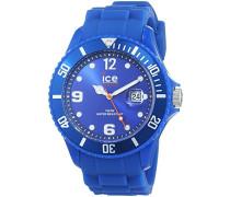 ICE forever Blue - Blaue Herrenuhr mit Silikonarmband - 000145 (Large)