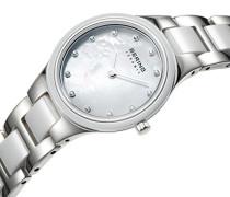 Damen-Armbanduhr Analog Quarz Edelstahl 32327-701