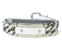 Dolce & Gabbana JEWELS D&G ROUGH EXT BRACELET LADY SS + LEATHER PARTS/WHITE DJ0728 male