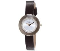 Damen-Armbanduhr XS Analog Quarz Leder 12100581