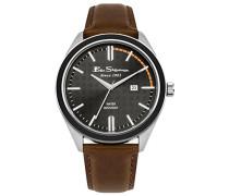 Datum klassisch Quarz Uhr mit PU Armband BS004BT