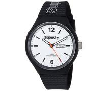 Erwachsene Analog Quarz Uhr mit Silikon Armband SYG179WB