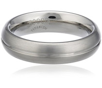 Unisex-Ring You & me Titan mattiert