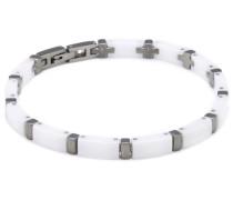 Damen-Armband Titan und weiße Ceramic 0371-03