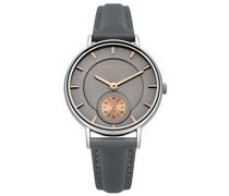 Datum klassisch Quarz Uhr mit PU Armband FO039E