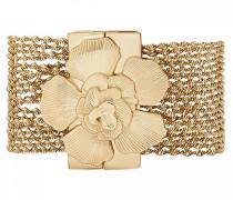 Damen-Manschetten Armbänder Vergoldet E18MLOLYGO