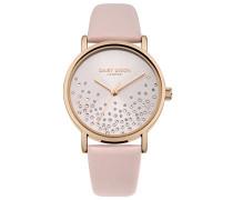 Datum klassisch Quarz Uhr mit Leder Armband DD053CRG
