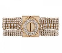 Damen-Manschetten Armbänder Vergoldet E18LFLAKGO